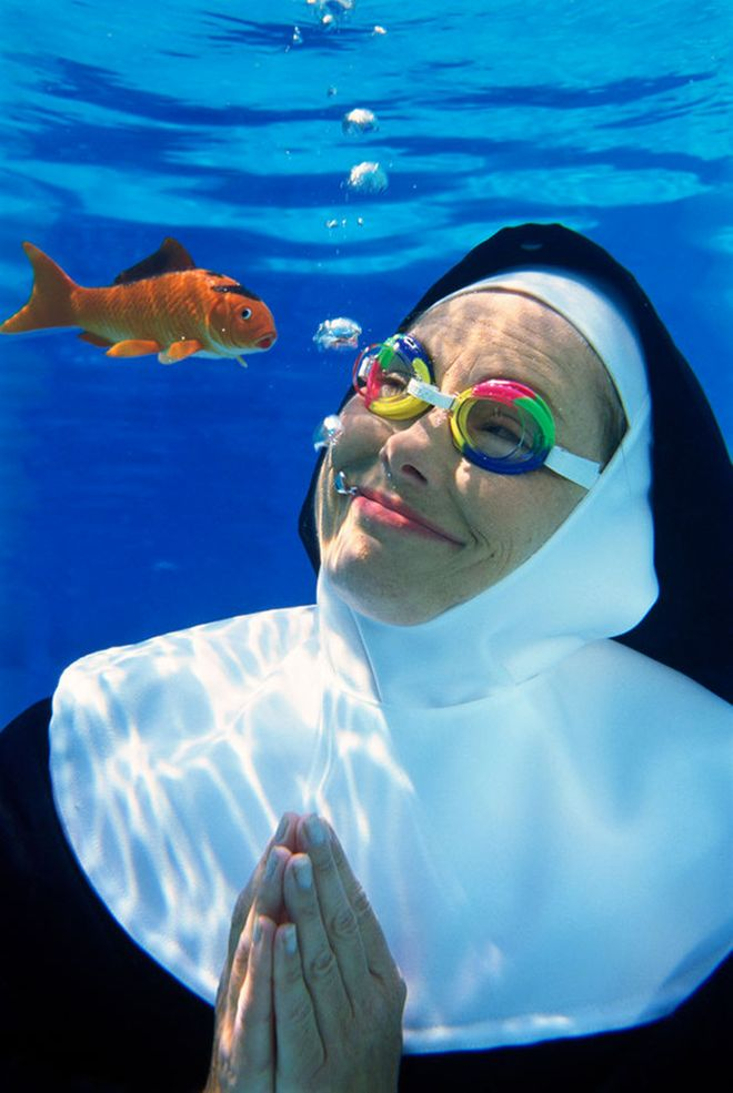Weird Stock Photos Nun 7